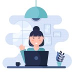 work from home for women- home office fatigue