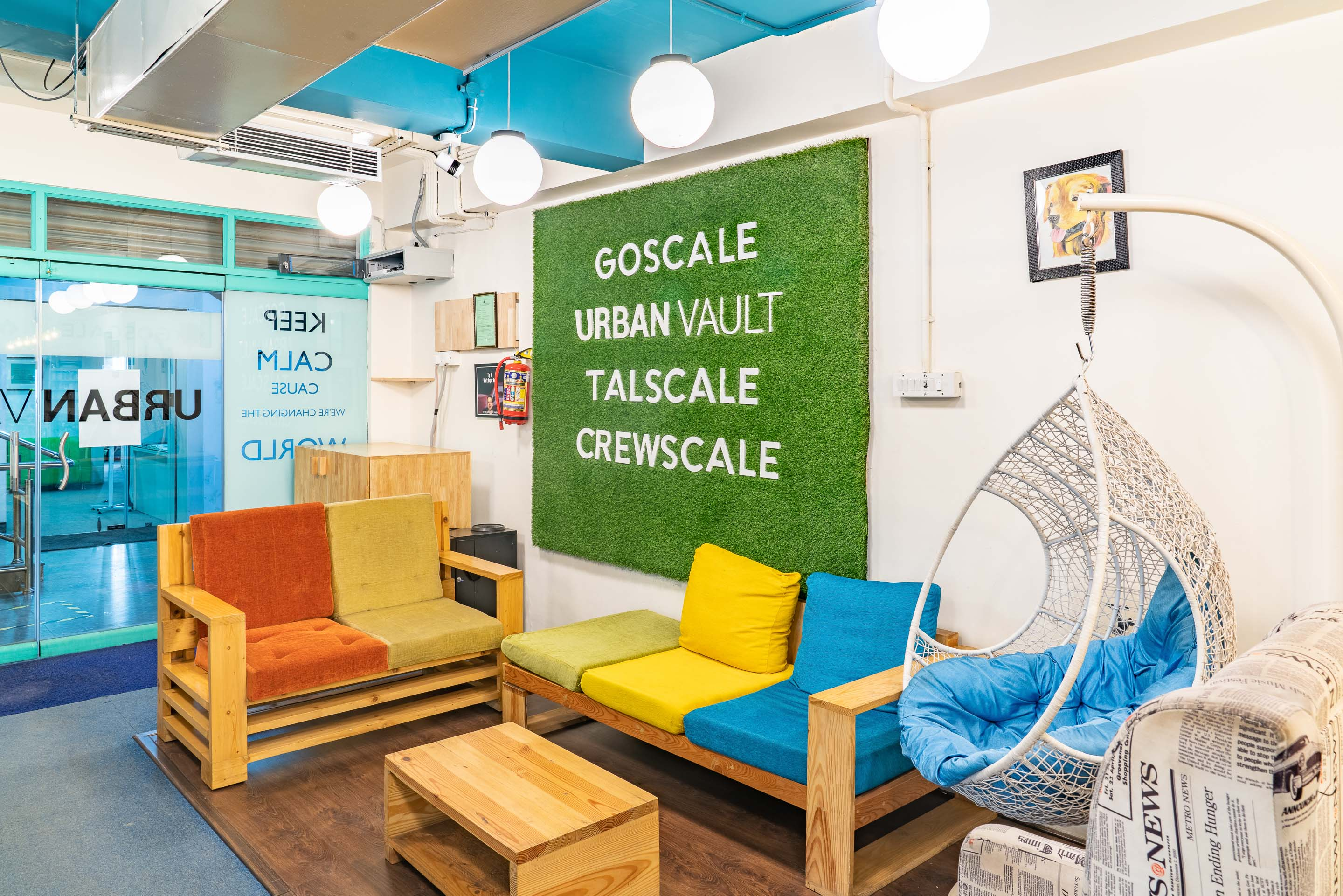 Urban Vault coworking space in Bangalore