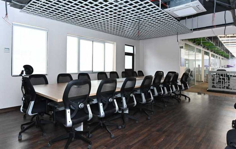 Summit Space coworking space in Lucknow