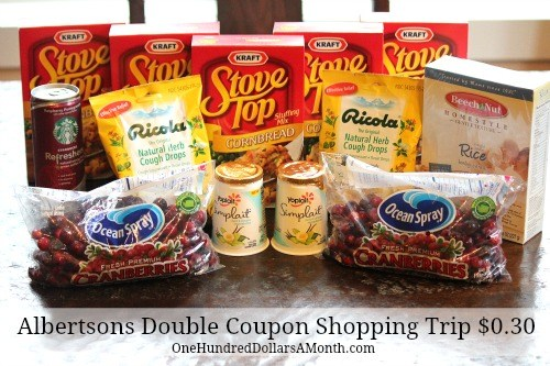 mavis-albertsons-double-coupon-shopping-trip