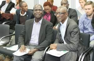 NAREP leader Elias Chipimo (l) diuring party meeting
