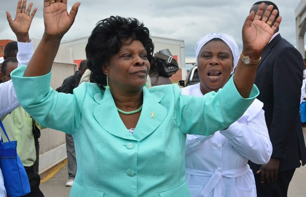 First lady Esther Lungu in Lusaka