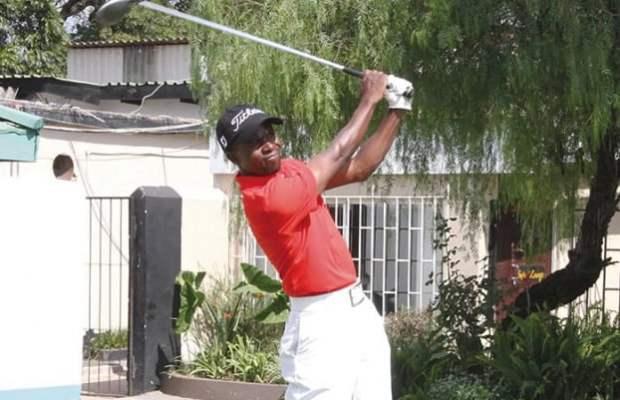 Vetrean Golfer Patrick Mwendapole: File picture