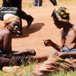 Ngoni Women enjoying 'waka ya chi ngoni during the 2016 N'Chwala in Chipata -Picture by Tenson Mkhala