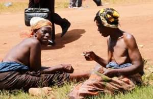 Ngoni Women enjoying 'waka ya chi ngoni during the 2016 N'Chwala in Chipata -Picture by Tenson Mkhala