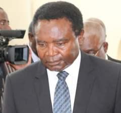 Heritage Party Leade4r Godfrey Miyanda in Lusaka-picture by Tenson Mkhala
