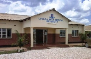 Lusaka Apex Medical University: File Picture