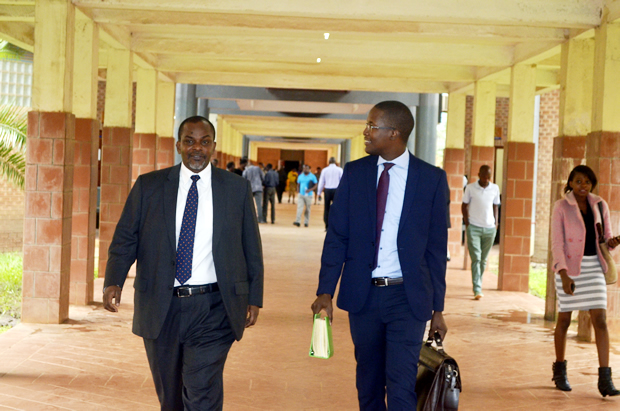 Former DDP Mutembo Nchito at Lusaka Magistrates Court -Picture by Tenson Mkhala