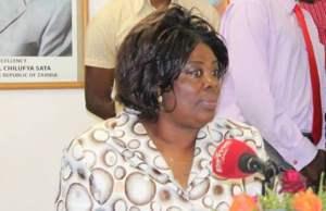 Jean Kapata: File Picture