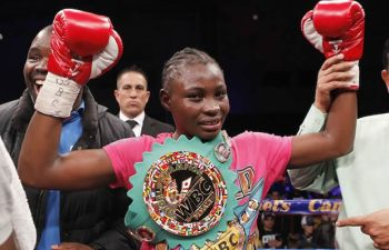 WBC bantam weight Champion Catherine Phiri: File picture
