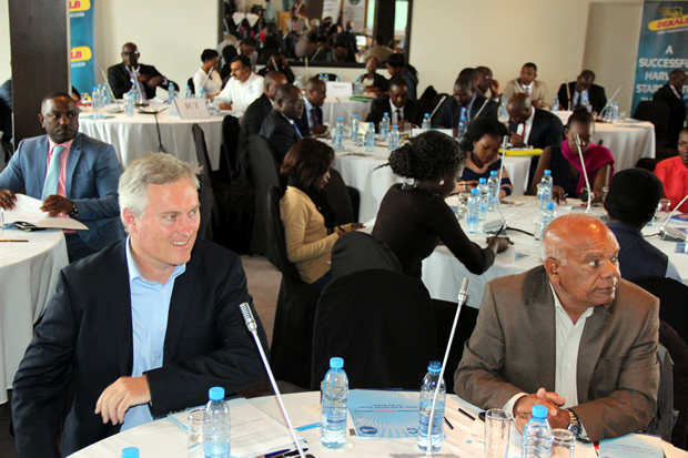 Delegates at the Zambia public and private dialogue in Lusaka-picture by Tenson Mkhala