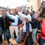 UPND cadres celebrate HH's acquittal - picture by Tenson Mkhala