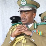 Zambia Correctional Service Commissioner Percy Chato - Picture by Joseph Mwenda