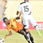 Zambia inn a tussle with Botswana at the 2017 COSAFA cup