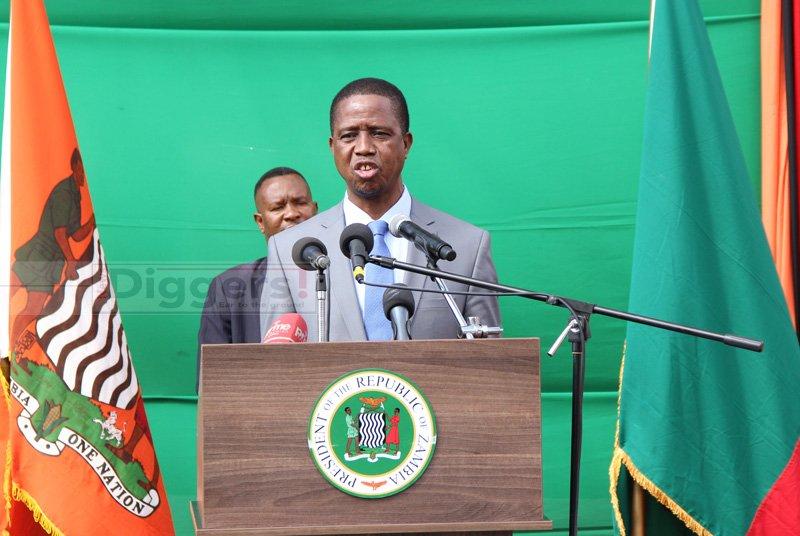 Edgar Lungu State House