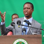 Edgar Lungu talks