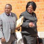 Jean Kapata and Harry Kalaba at State House