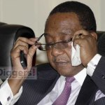FILR: Geoffrey Bwalya Mwamba (GBM) in Cabinet when he was Defence minister on October 28, 2013 - Picture by Joseph Mwenda