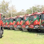42 fire tenders handed over to council by the government in Lusaka September 13, 2017 picture by Tenson Mkhala