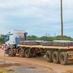 A truck carrying copper from the Copperbelt