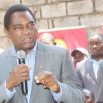 United Party for National Development (UPND) leader Hakainde Hichilema addresses journalists during a press briefing at the party secretariat in Lusaka on October 4, 2018 – Picture by Tenson Mkhala