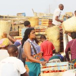 Traders at Lusaka's Soweto Market - Picture by Tenson Mkhala