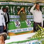 President Edgar Lungu and PF Secretary General Davies Mwila