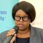 Acting ACC director general Rosemary Khuzwayo addresses journalists during a TIZ briefing Lusaka on July 11, 2019 - Picture by Tenson Mkhala