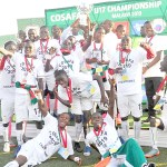 U17 Chipolopolo lift 2019 COSAFA Cup trophy