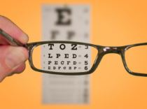 Glasses eye chart