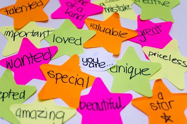 words describing self-esteem