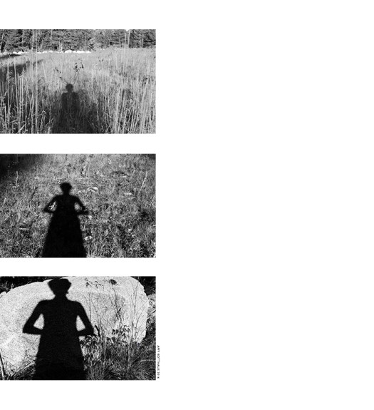 Ghost, Self-Portrait, and Pan by Amy Kotthaus (top to bottom)