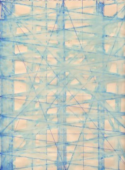 Blue Line Drawing No. 3