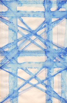 Blue Line Drawing No. 8