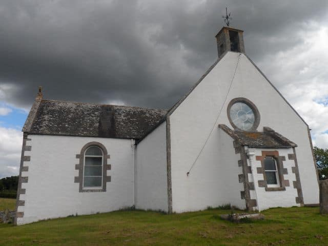 Oxnam Kirk, Scottish Borders