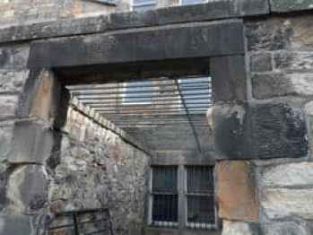 Caged Lair William Inglis Greyfriars Kirkyard, Edinburgh