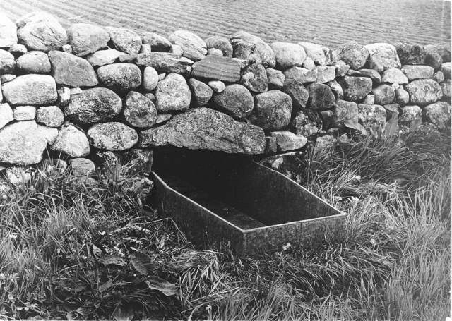 Kirkton on Durris Mortsafe used as a water Trough for Cattle via Wellcome Images