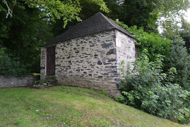 Watch house at Kirkton of Culsamond Aberdeenshire
