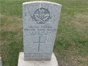 William's tombstone