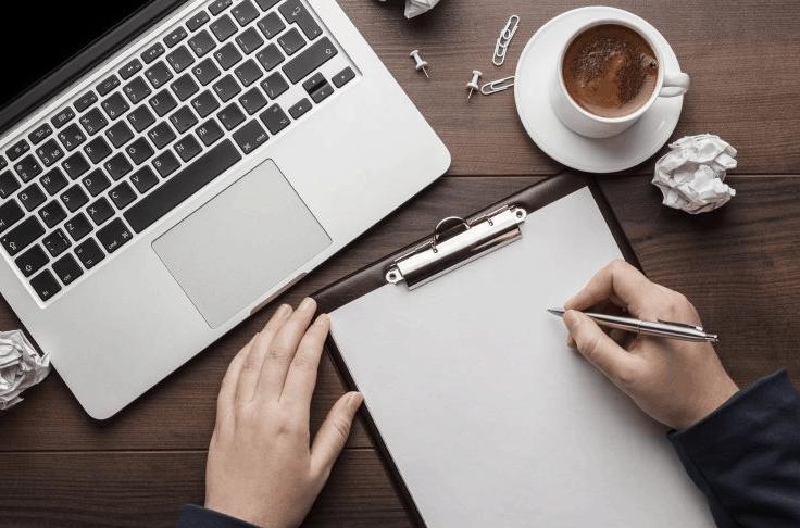 scrivere contenuti