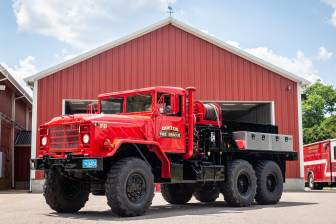 Forestry 3: 1991 American General M923, 1000 Gallon Tank