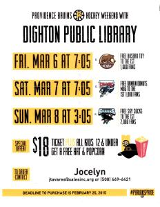 Providence Bruins Flyer