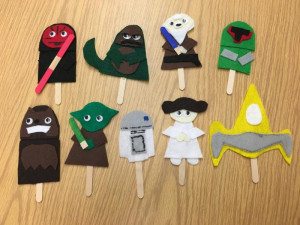 star wars puppets