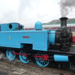 side image of Thomas the tank engine