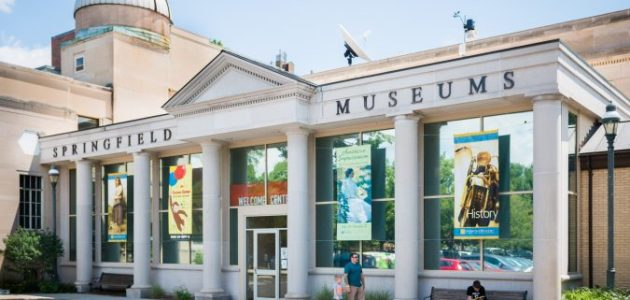 Springfield museums welcome center