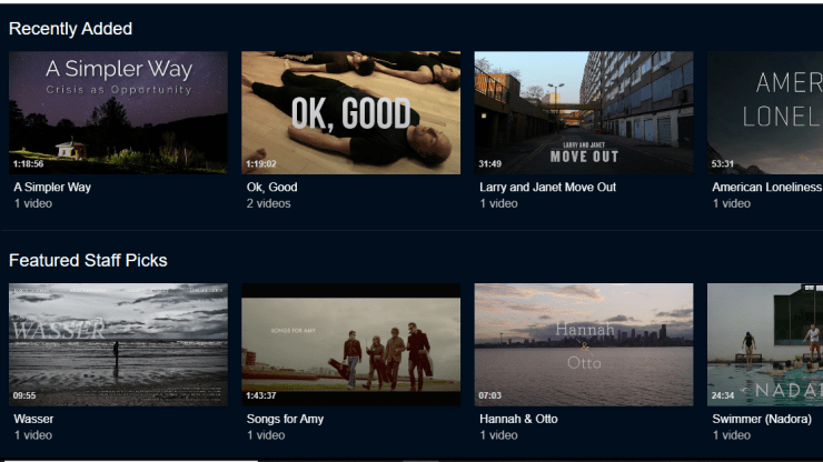 Indieflix streaming movies