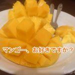 体が拒否していたマンゴーを克服〜!