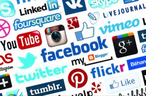 Digital Recruitment Social Media Icons