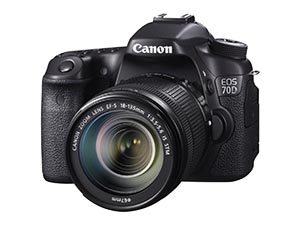Canon EOS 70D with lens Best camera For Vlogging