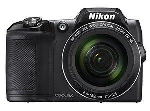 NikonCOOLPIXL840DigitalCamerawith38xOpticalZoomandBuilt-InWi-Fi-Black-CertifiedRefurbished-